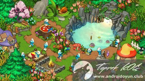 smurfs apk smurfs magical meadow v1 9 1 0 mod apk para hileli
