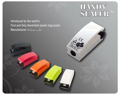 New Mini Handy Sealer handy sealer mini plastic bag sealer oem color available