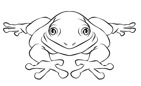 Free Frog Coloring Pages To Print Out And Color Color For Print L