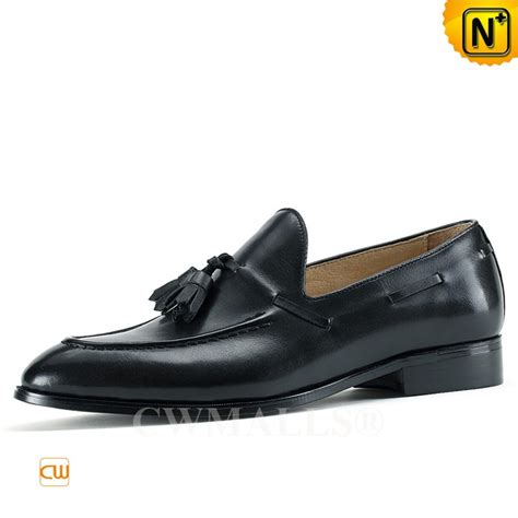 leather tassel loafers black leather tassel loafers cw707085