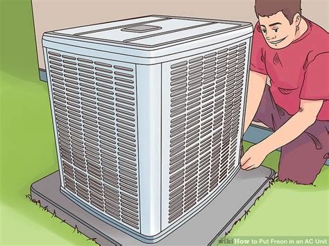 Adding Refrigerant To Window Ac Unit - how to put freon in an ac unit with pictures wikihow