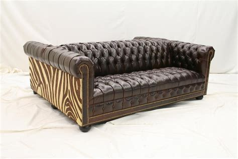 double sided sofa high end furniture tufted double sided leather sofa