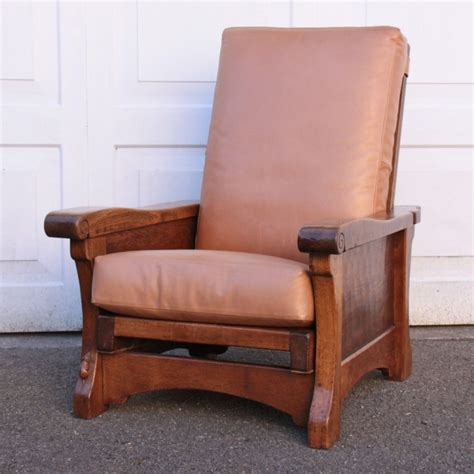 reclining reading chair robert thompson mouseman rare early oak reclining
