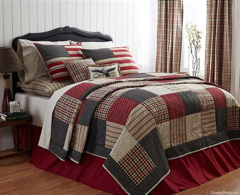 Country Comforters by Quilt Primitive Bedding Country Quilt Sets