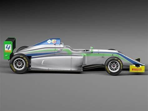 formula 4 car formula 4 tatuus 2014 3d model max obj 3ds fbx c4d