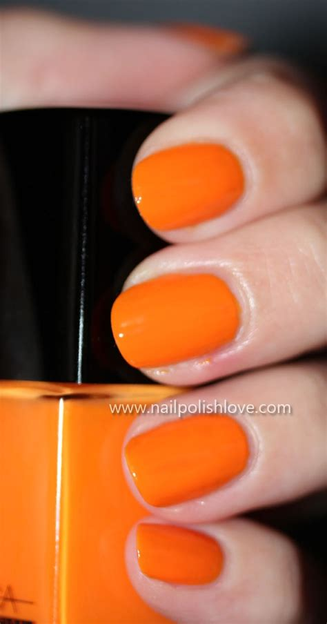 fingernail color 17 best ideas about orange nail on