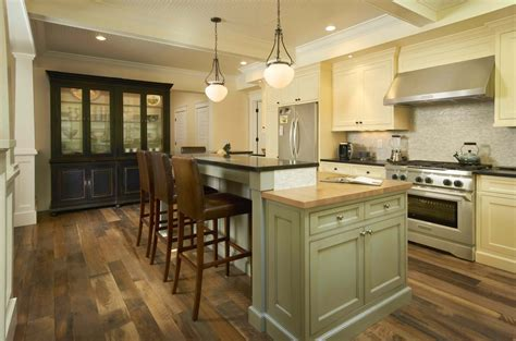 historic use of thresh on floor quot historic plank quot reclaimed wood floor used in the kitchen