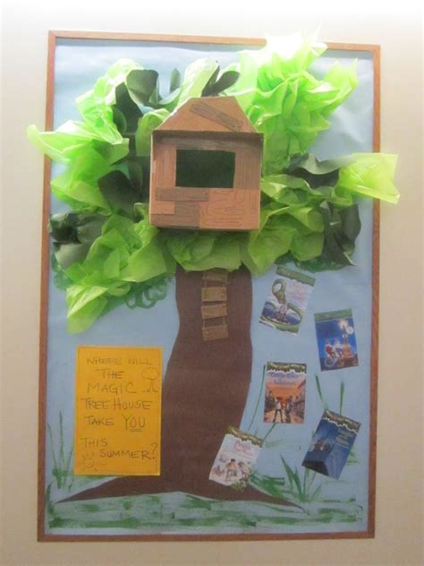 House Project Ideas | quot where will the magic tree house take you quot magic tree