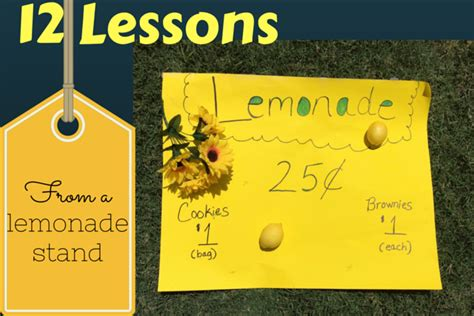 lessons from a lemonade stand an unconventional guide to government books 12 lessons from a lemonade stand