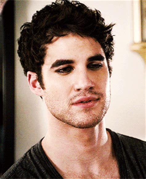 darren criss in most likely guyliner