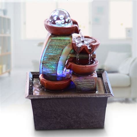 small water fountains for desk iee free shipping small