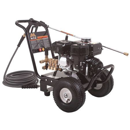 mi t m water pressure washer 3000 psi mi t m 3000 psi 2 4 gpm cold water gas pressure washer gc