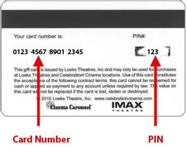 where is the card number on a visa gift card - Gift Card Number And Pin