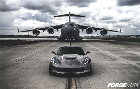 wallpaper  corvette chevrolet wheels ar forgeline