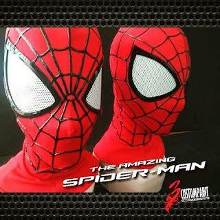tutorial gambar spiderman tutorial membuat topeng amazing spiderman 2 versi