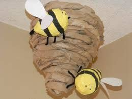 How To Make A Paper Beehive - 25 best ideas about beehive craft on bee