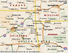 map of oklahoma and arkansas pictures to pin on