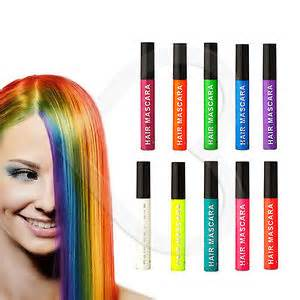 hair color that washes out stargazer hair mascara temporary wash out bright colour