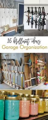 Garage Organization Ideas Diy 16 Brilliant Diy Garage Organization Ideas