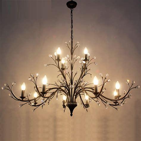 Modern Iron Chandelier Modern Wrought Iron Chandelier Lighting W 3 5 9 12 Lights