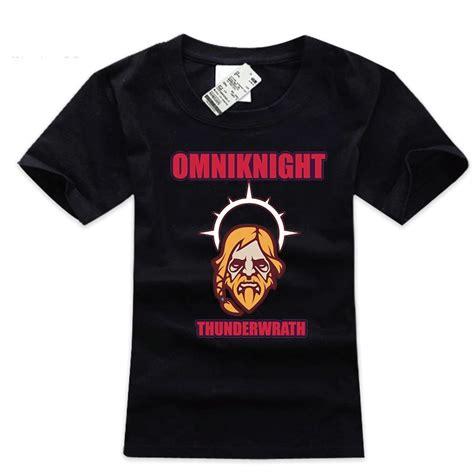 Tshirt Dota 2 Vanoss Gaming dota 2 omniknight t shirt cotton 3xl size mens wishining