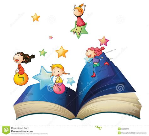 libro art the whole story a book with children playing stock vector illustration of image fiction 32202178