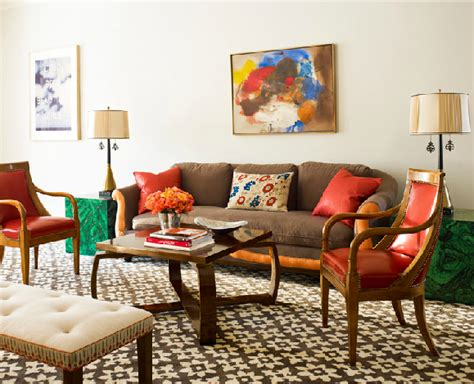 katie ridder 16 chic interiors how to decorate with orange rugs and