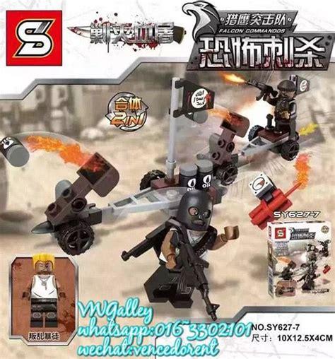 Lego Falcon Commando lego type figurines falcon commandos for purchase in
