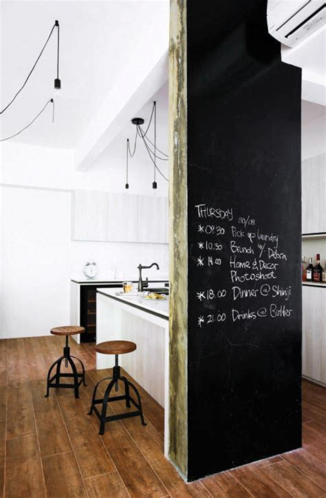chalk paint singapore so you want a blackboard in your home ideas here home