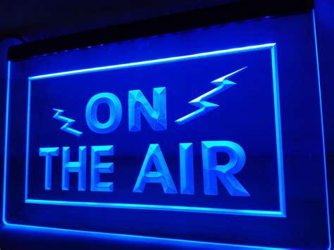 radio on air light lb066 on the air radio recording studio light sign home