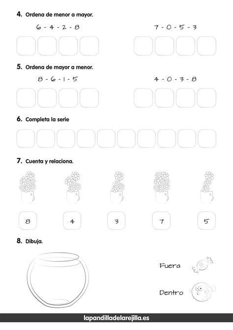 Evaluaciones Iniciales - Exámenes Matemáticas ABN - Primero