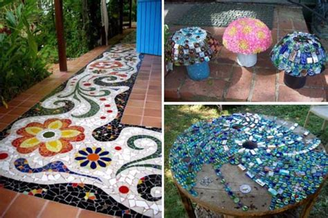 easy  stunning diy mosaic craft projects