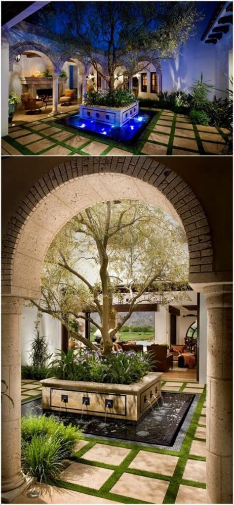 18 glamorous courtyard design that are center of attraction top inspirations 18 glamorous courtyard design that are center of