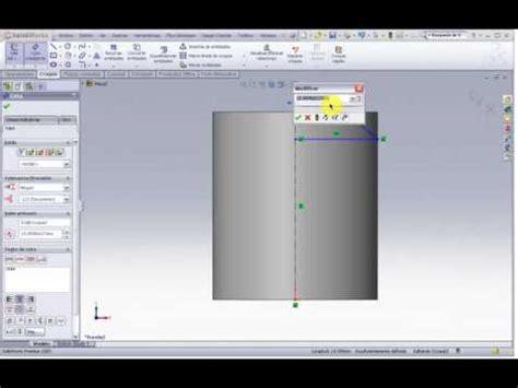 tutorial solidworks espanol tutorial solidworks 2009 totalmente en espa 241 ol 5 youtube