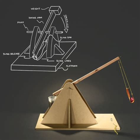 diy physics projects 17 best images about siege machines catapults and