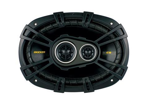 Speaker Kicker kicker car audio cs6934 6x9 quot 3 way cs series coaxial