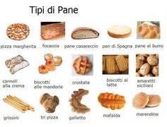 diversi tipi di pane bakery vocabulary vocabulary