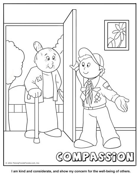 Anti Bullying Coloring Pages Az Coloring Pages Scout Coloring Page