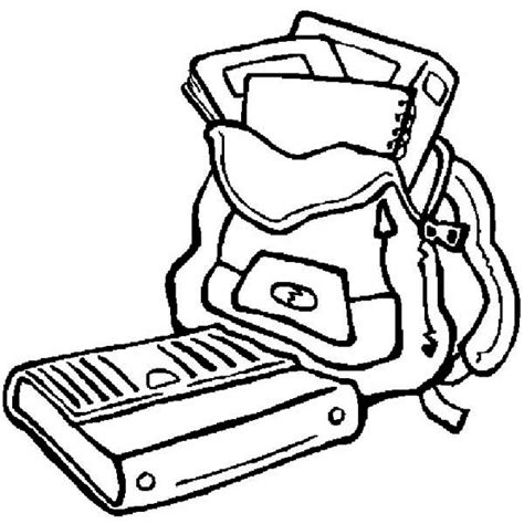 school equipment 30 objects printable coloring pages