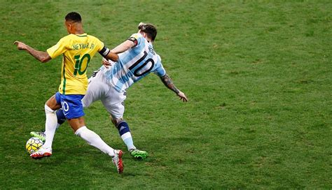 Brasil Vs Brasil Vs Argentina As 237 Se Juega El Cl 225 Sico Con Messi Y