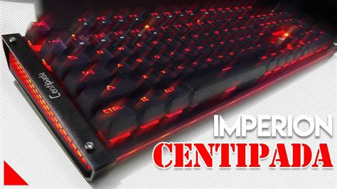 Keyboard Mecha Murah murah tapi premium rgb keliling imperion centipada mech keyboard
