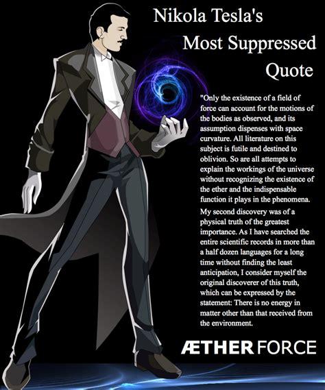 Tesla Ticker Tesla Had Moved Beyond Electrical Engineering To Aetheric