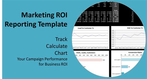 roi in digital marketing a report template to track