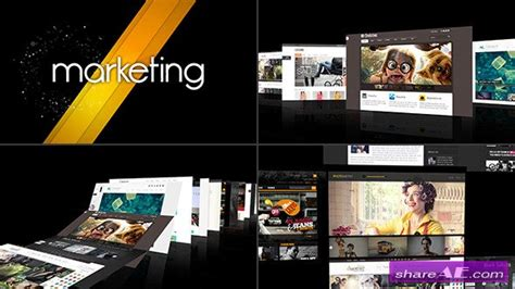 demo reel template videohive modern intro demo reel after effects templates