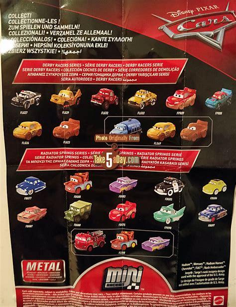 Disney Cars Mini Racer 13 Florida Ramone mattel disney pixar cars 3 metal mini diecasts wave 3