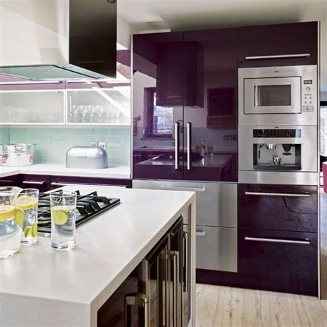 best 25 purple kitchen cabinets ideas on
