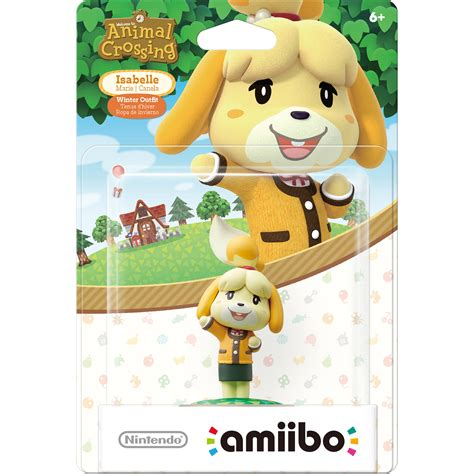 Nintendo Amiibo Figures Kapp N Animal Crossing Series nintendo isabelle winter amiibo figure nvlcajaa b h