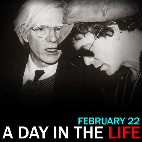who died in february 2016 the death of andy warhol a day in the life for february