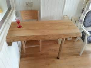 items similar to ripple ash wood breakfast bar table
