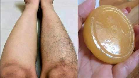 before and after shots of males with pubic hair and then with it removed homemade hair removal soap remove body hair at home in